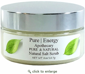 Pure|Energy Apothecary Sea Salt Scrub - Pure & Natural 8 oz