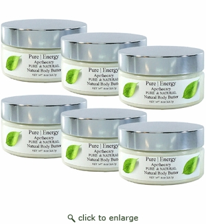 Pure|Energy Apothecary Whipped Body Butter - Pure & Natural 8 oz : Case of 6