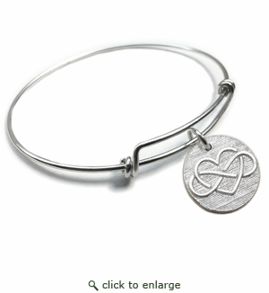 Pure|Energy {vt} Forever Charms & Bangles : Infinity Love