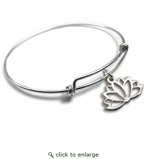 Pure|Energy {vt} Forever Charms & Bangles : Lotus