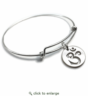 Pure|Energy {vt} Forever Charms & Bangles : OM