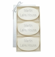 SIGNATURE SPA AQUA MINERAL TRIO: THREE BARS PERSONALIZED LAKE HOUSE