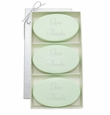 SIGNATURE SPA GREEN TEA & BERGAMOT TRIO: THREE BARS GIVE THANKS