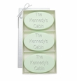 SIGNATURE SPA GREEN TEA & BERGAMOT TRIO: THREE BARS PERSONALIZED CABIN