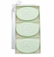 SIGNATURE SPA GREEN TEA & BERGAMOT TRIO: THREE BARS PERSONALIZED LEAF