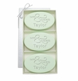 SIGNATURE SPA GREEN TEA & BERGAMOT TRIO: THREE BARS PERSONALIZED MR & MRS