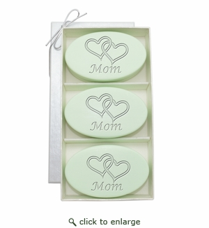 SIGNATURE SPA GREEN TEA TRIO:DOUBLE HEARTS FOR MOM
