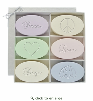 SIGNATURE SPA INSPIRE: GIFT SET PEACE, LOVE, DOGS