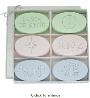 SIGNATURE SPA INSPIRE GREEN TEA & BERGAMOT, SATSUMA, and WILD BLUE LUPIN : PEACE, LOVE, JOY