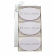 SIGNATURE SPA LAVENDER TRIO: THREE BARS PERSONALIZED ADDRESS