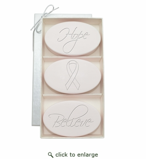 SIGNATURE SPA SATSUMA TRIO : HOPE BELIEVE BREAST CANCER AWARENESS
