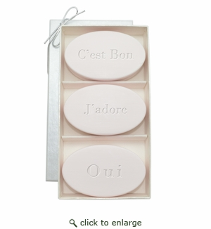 SIGNATURE SPA SATSUMA TRIO: THREE BARS C'EST BON