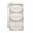 SIGNATURE SPA SATSUMA TRIO: THREE BARS PERSONALIZED ADDRESS