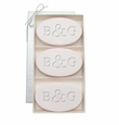 SIGNATURE SPA SATSUMA TRIO: THREE BARS PERSONALIZED INITIAL & INITIAL