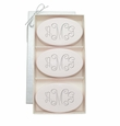 SIGNATURE SPA SATSUMA TRIO: THREE BARS PERSONALIZED VINE MONOGRAM