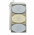 SIGNATURE SPA WILD BLUE LUPIN AND VERBENA TRIO: THREE BARS MENORAH