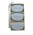 SIGNATURE SPA WILD BLUE LUPIN TRIO: THREE BARS PERSONALIZED ADDRESS