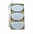 SIGNATURE SPA WILD BLUE LUPIN TRIO: THREE BARS PERSONALIZED VINE MONOGRAM