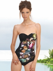 Prelude Paradise Birds One Piece Swimsuit - Final Sale