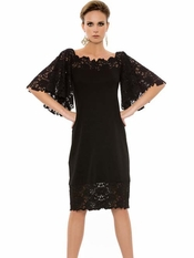Rebecca Black Dress Lace Sleeves