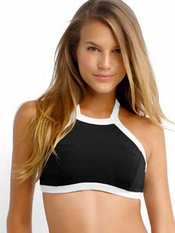 Seafolly Block Party High Neck Tank