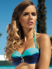 Meriell Blue Sky Underwire Bandeau Top - On Sale