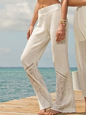 L Space Boardwalk Ivory Pant - On Sale