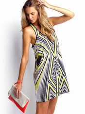 Seafolly Chartreuse Trader Dress - Final Sale