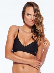 L Space Chloe Wrap Swim Top