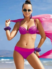 Meriell Pink Lady Push Up Bikini - On Sale