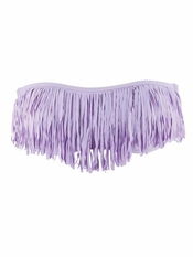 L Space Dolly Fringe Bandeau Lavender - On Sale