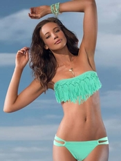 L Space Dolly Fringe Taboo Bikini - On Sale