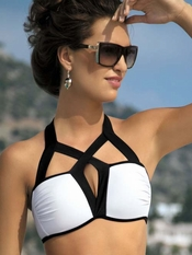 Meriell Glamour Bandeau Top