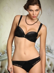 Jolidon Black 2 Piece Lingerie Set - On Sale