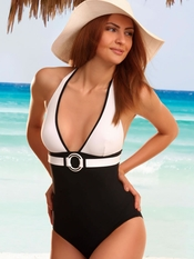 Jolidon Color Block One Piece - Final Sale