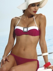 Jolidon Diva Bandeau Bikini Set - On Sale