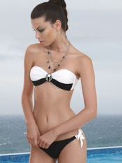 Prelude Jazz Fusion Bandeau Bikini - On Sale