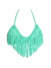 L Space Audrey Fringe EXCLUSIVE Seafoam - On Sale