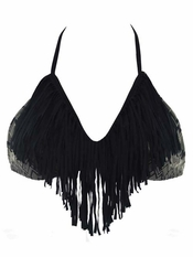 L Space Audrey Fringe Sahara Halter - Final Sale