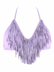 L Space Audrey Fringe Lavender - On Sale