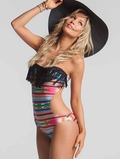 Maio Free Love Fringe Monokini - On Sale