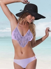 L Space Lavender Audrey Olivia Bikini - On Sale