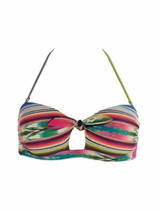 L Space Cozumel Peek A Boo Bandeau Top - Final Sale
