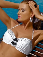 Meriell Pearls Bandeau Top - On Sale