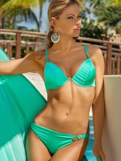 Meriell Mint Push Up Swimsuit - On Sale