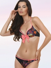 Prelude Braided Accents Push Up Bikini - On Sale