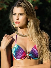 SABZ Aquarelli Underwire Top