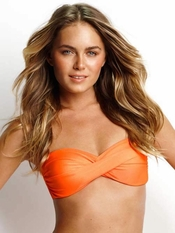 Seafolly Shimmer Twist Bandeau - On Sale