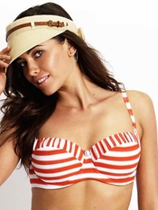 Seafolly Seaview Bustier Swim Top - On Sale