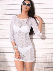 Lilly Beach Spa White Dress - On Sale